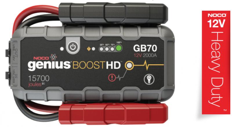 NOCO Boost Heavy Duty 12V 2000A Jump Starter - GB70