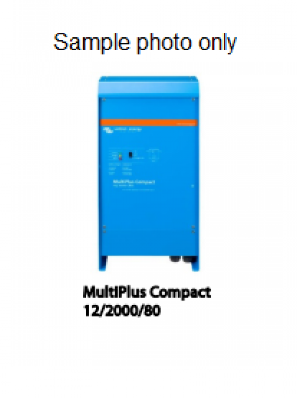 Victron Energy Multi Plus Compact Inverter Charger - 24/800/16-16