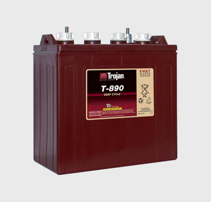 Trojan T-890, T890 8V Deep Cycle Battery