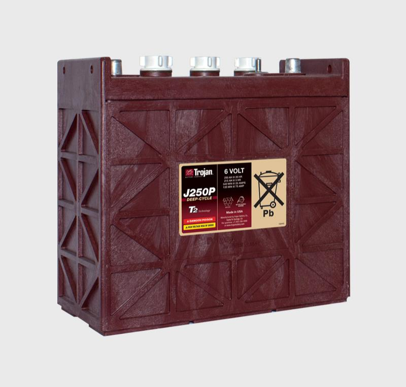 Trojan J250P 6V Deep Cycle Battery