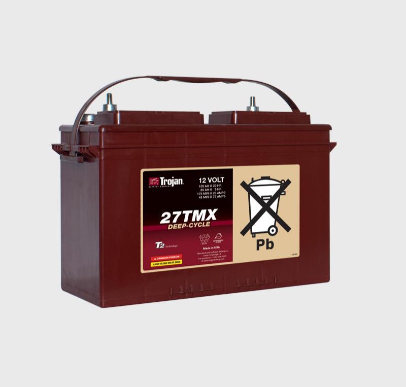 Trojan 27TMX 12V Deep Cycle Battery