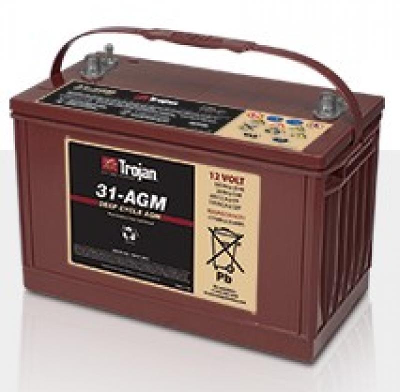 Trojan 31-AGM 12V Deep Cycle Battery
