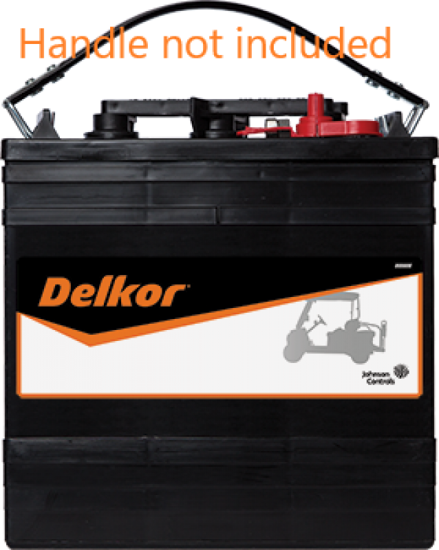 Delkor GC2-232 6V Ride on Golf Cart battery