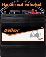 Delkor GC2-232 6V Ride on Golf Cart battery