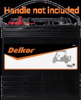Delkor GC8-170 8V Ride on Golf Cart Battery