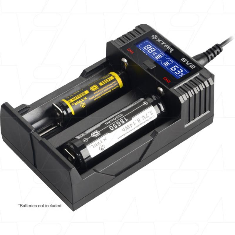 Xtar SV2 Full Set Battery Charger