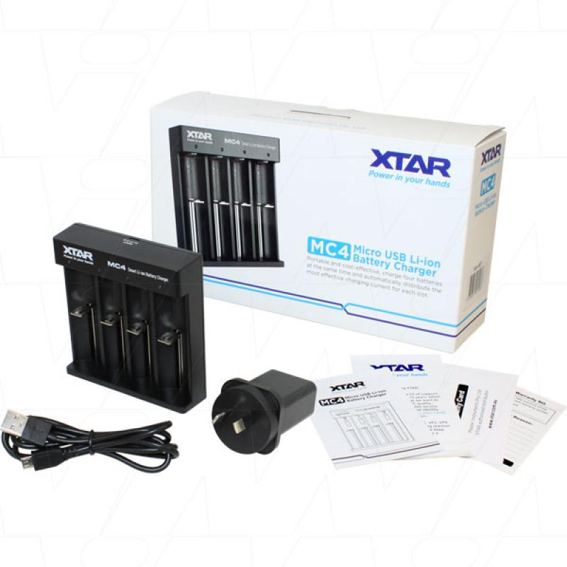 Xtar MC4 Battery Charger