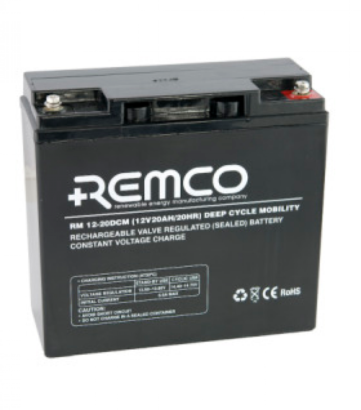 Remco 12V 20Ah Mobility Deep Cycle AGM