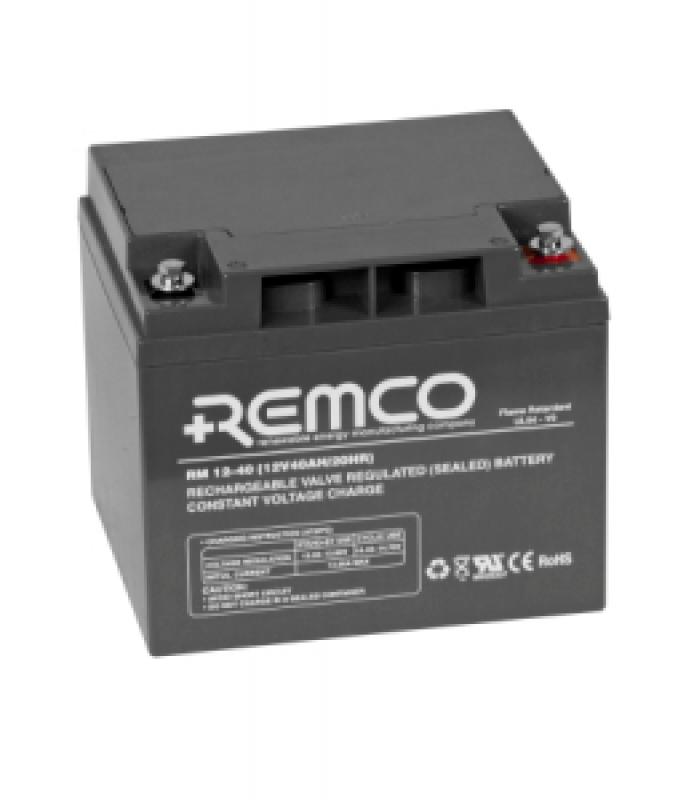 Remco 12V 40Ah Standby AGM FR