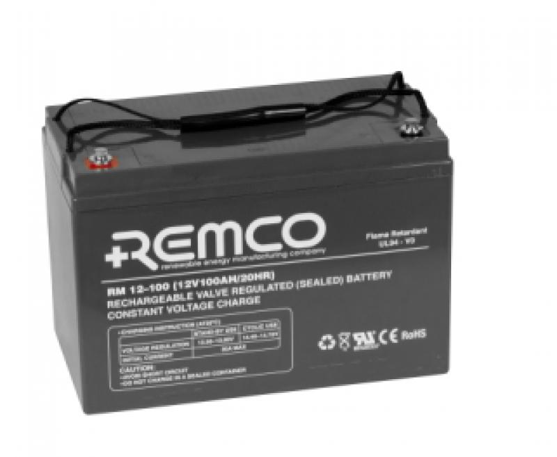 Remco 12V 100Ah Standby AGM FR