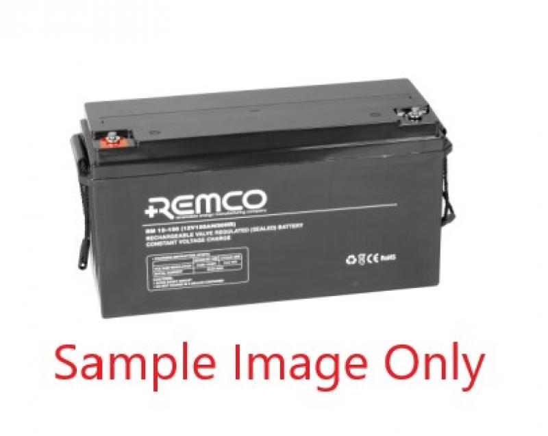 Remco 12V 140Ah AGM Deep Cycle Battery - RM12-140DC