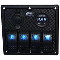 Baintech 4 Way Switch Panel - BTSWITCH4