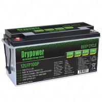 Drypower 12.8V 100Ah Deep Cycle Lithium Battery - 12LFP100P