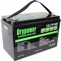Drypower 12.8V 105Ah Deep Cycle Battery - 12LFP105