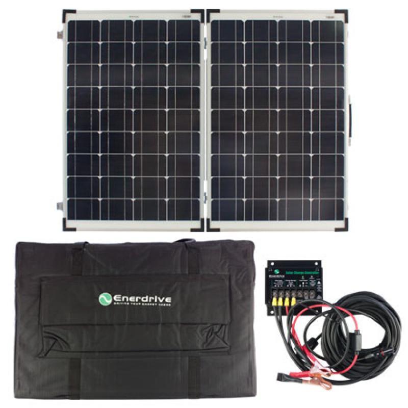 SPF-EN120W - 120W Folding Solar Panel Kit