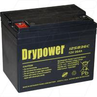Drypower 12SB36C 12V 36Ah Deep Cycle Battery