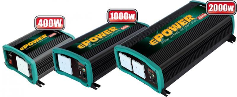 Enerdrive ePower EN1110S - 12V, 1000W Pure Sine Wave Inverter