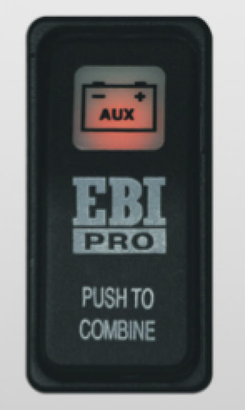 Intervolt Combination Rocker Switch/Indicator for Intervolt EBI and PSR Series