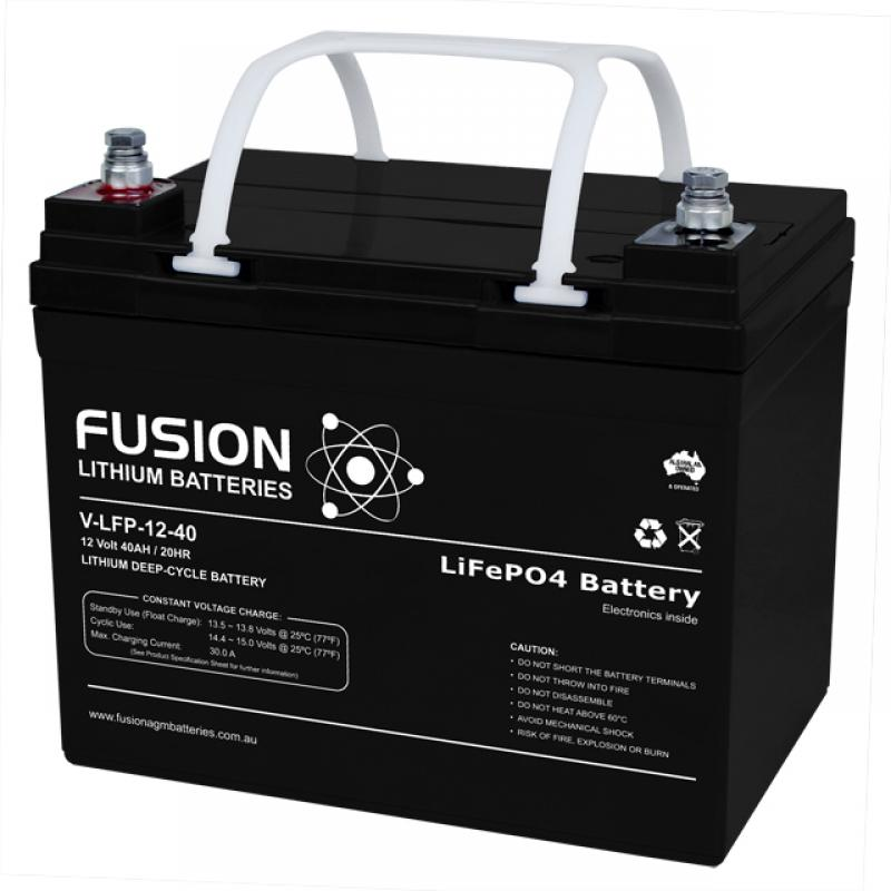 Fusion V-LFP-12-40 - Lithium Battery 12V, 40Ah