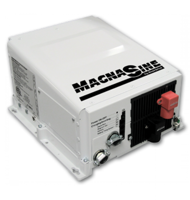 Magnasine MS-4124PE - 24V, 4100W Pure sine wave Inverter/Charger Combi