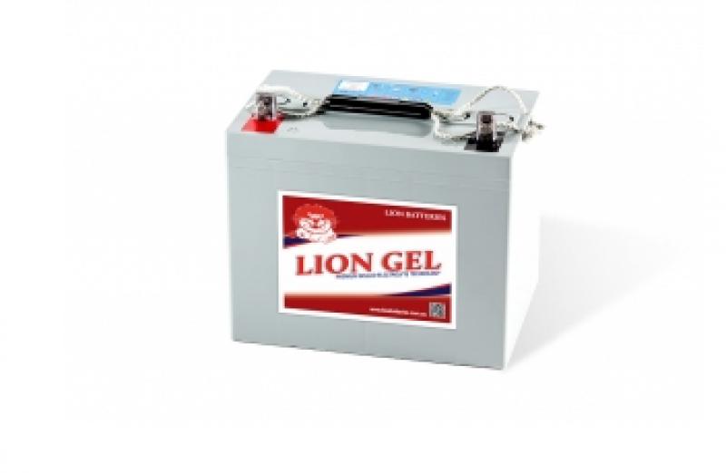 Lion Batteries - HZY12-80 Heavy Duty Deep Cycle GEL Battery 80Ah