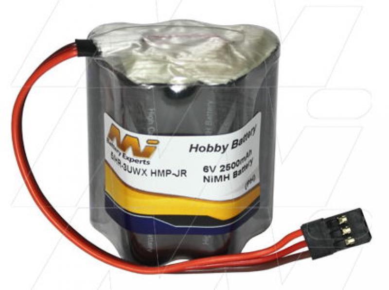 6V NiMH Receiver Pack (Hump)