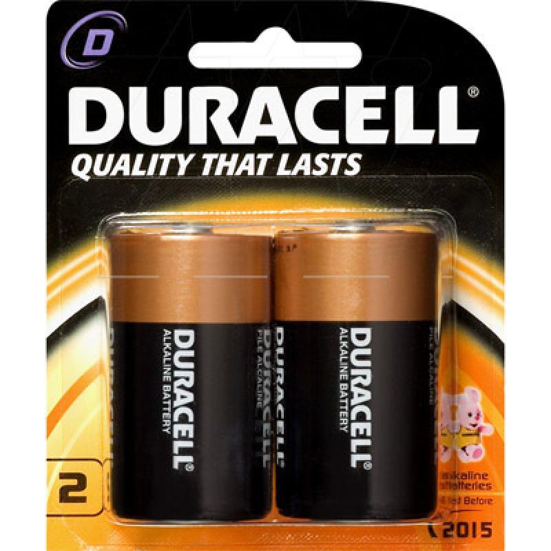 Duracell Coppertop Alkaline D, LR20 size Battery