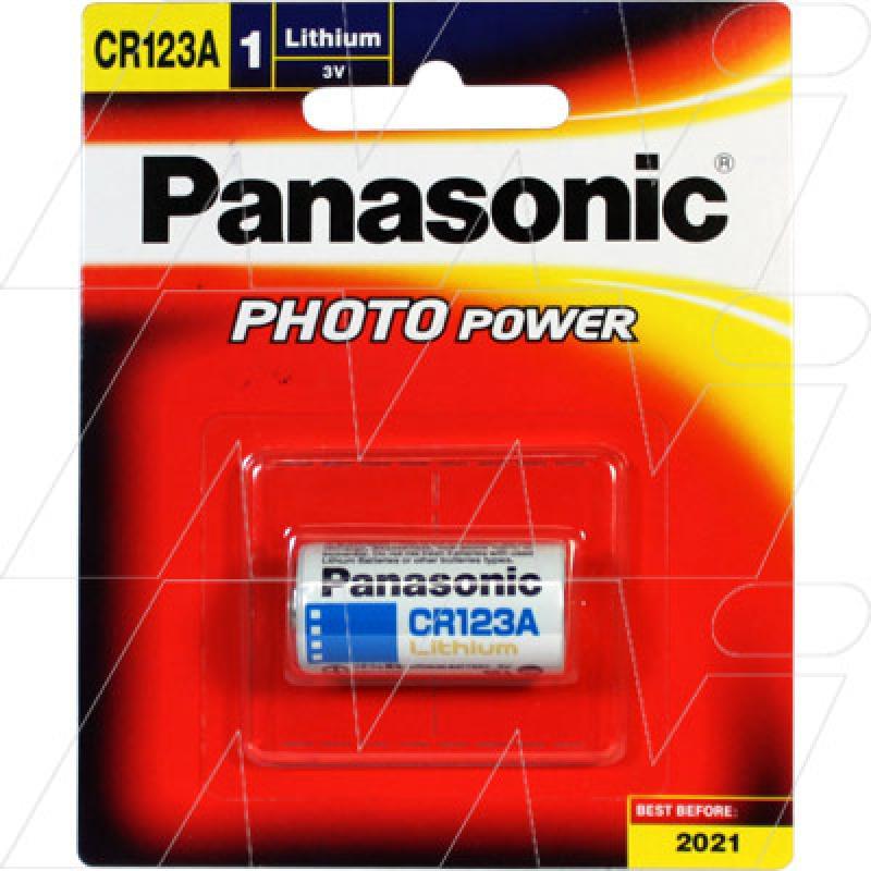 Panasonic High Power CR123A Lithium Battery