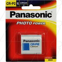 Panasonic CR-P2 Lithium Battery