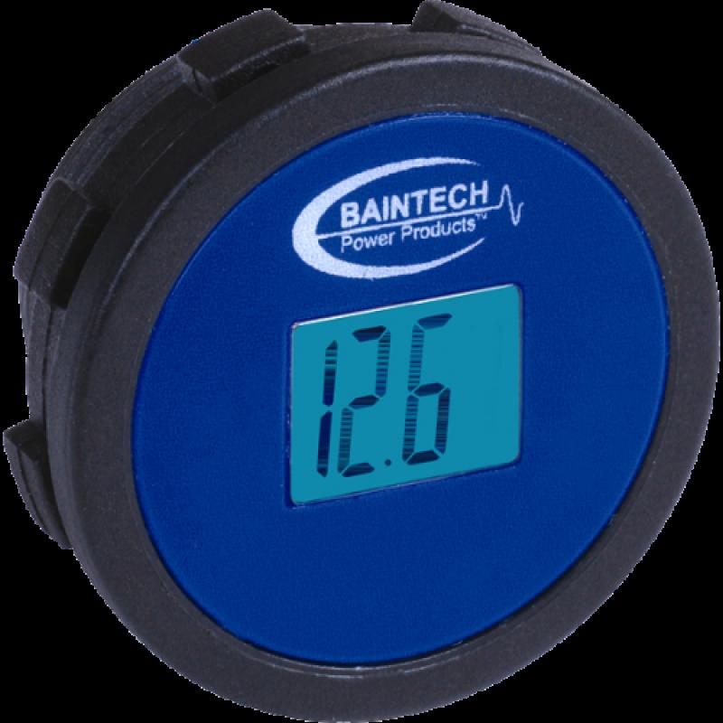 BAINTECH BTDCM001R - Flush Mount Single Mini Digital Volt Meter