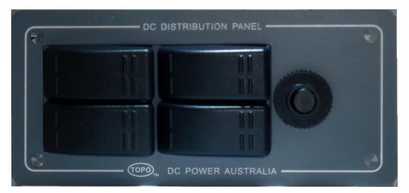 BAINTECH Grey 4 switch Panel