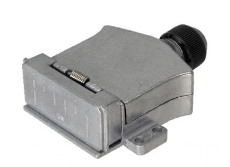 7pin Flat Metal Trailer Socket.