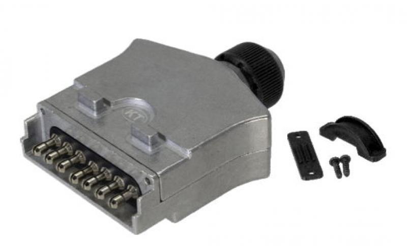 7pin Flat Metal Trailer Plug