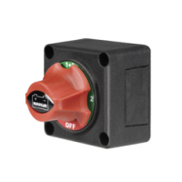 Battery Master Switch, Rotary Style with 4 Positions