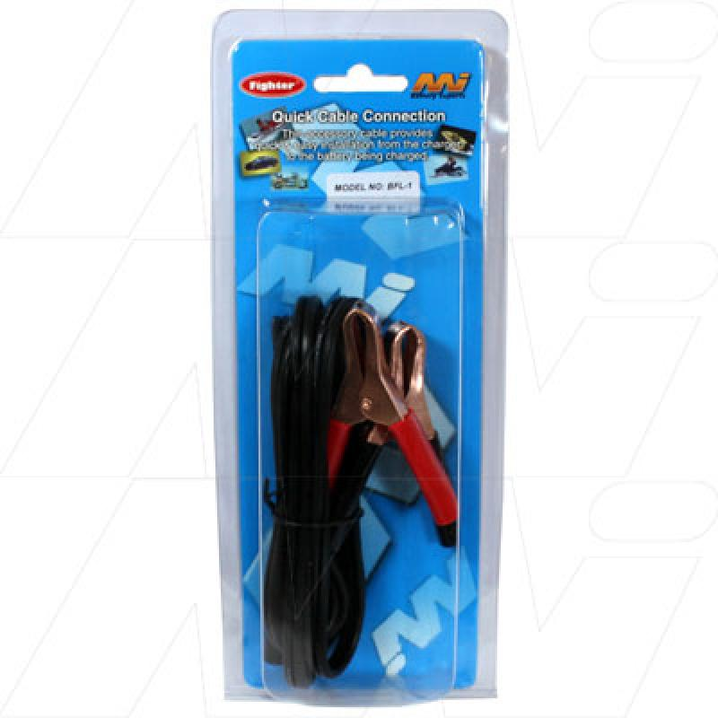 BFL1 - Lead & Alligator Clip for Battery Fighter Chargers