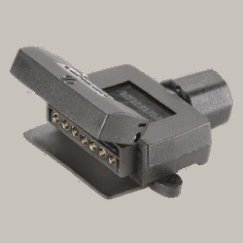 Narva - 7 Pin Flat 'Quickfit' Trailer Socket (82042BL)
