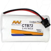 CTB72 - Cordless Phone Battery