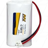CTB70 - Cordless Phone Battery