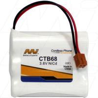 CTB68 - Cordless Phone Battery