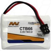 CTB66 - Cordless Phone Battery