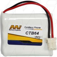 CTB64 - Cordless Phone Battery