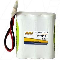 CTB63 - Cordless Phone Battery