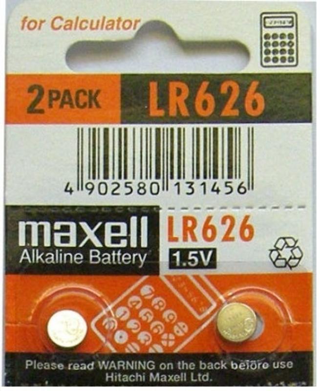 Maxell - LR626 Button Cell