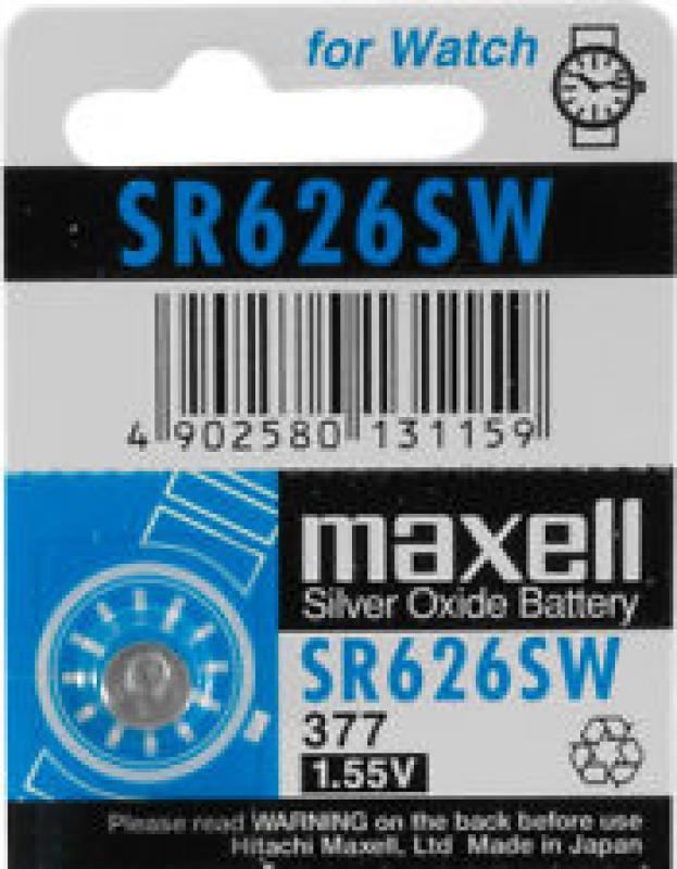 Maxell - SR626SW Button Cell
