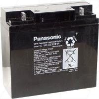 Panasonic LC-XC1221P - 12V, 21Ah Sealed Lead Acid Battery, Cyclic type