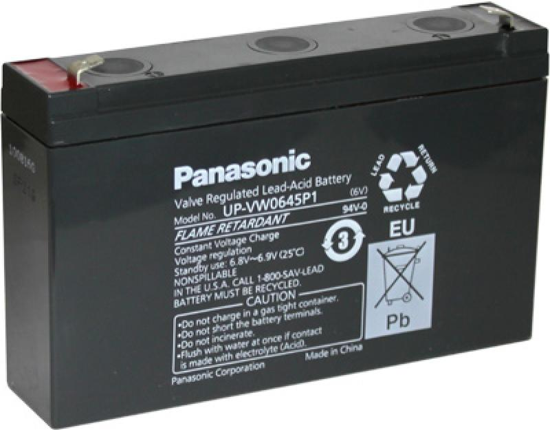 Panasonic UP-VW0645P1 (UP-RW0645P1) - Sealed Lead Acid Battery for Standby, UPS