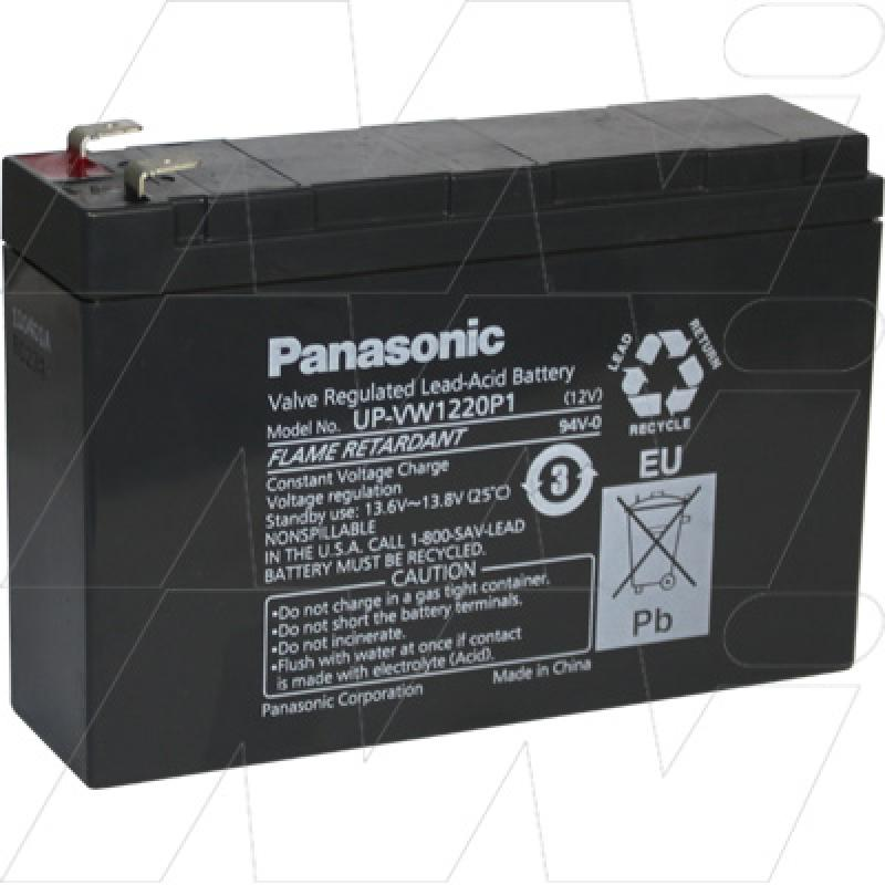 Panasonic UP-VW1220P1 - Sealed Lead Acid Battery for Standby, UPS