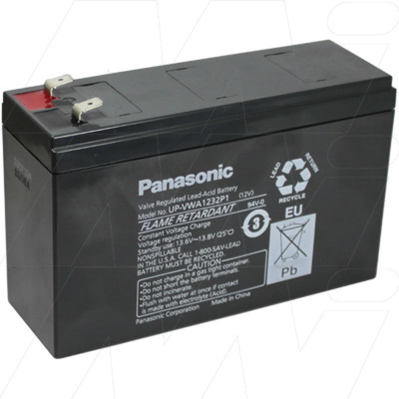 Panasonic UP-VWA1232P1 - Sealed Lead Acid Battery for Standby, UPS