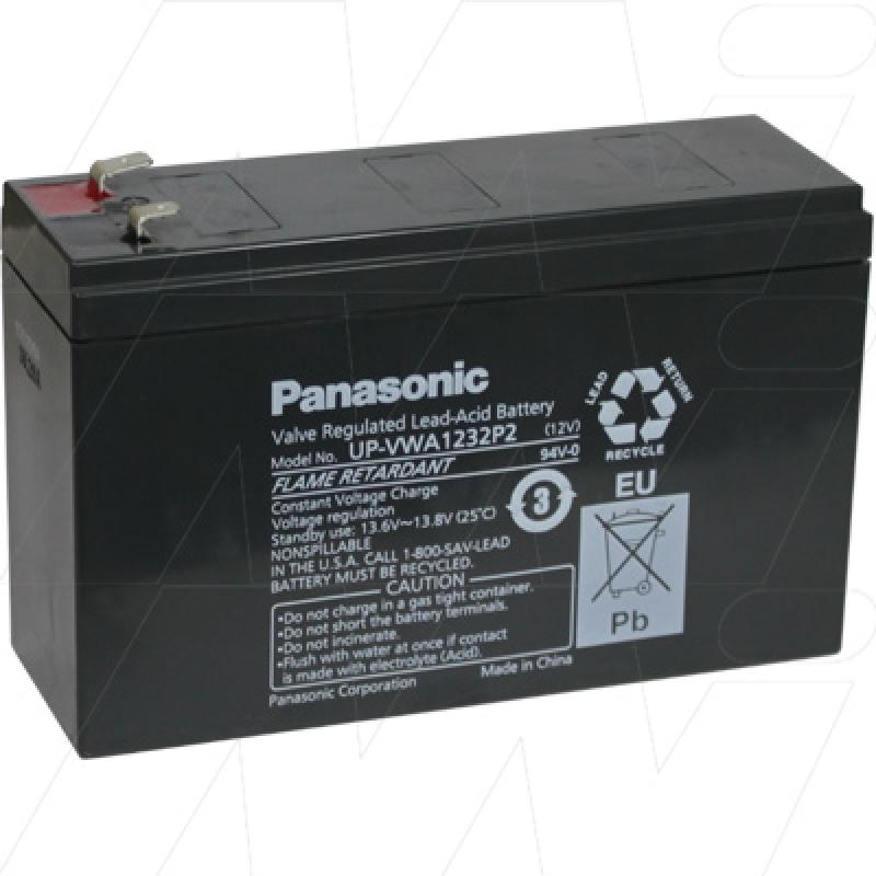 Panasonic UP-VWA1232P2 - Sealed Lead Acid Battery for Standby, UPS