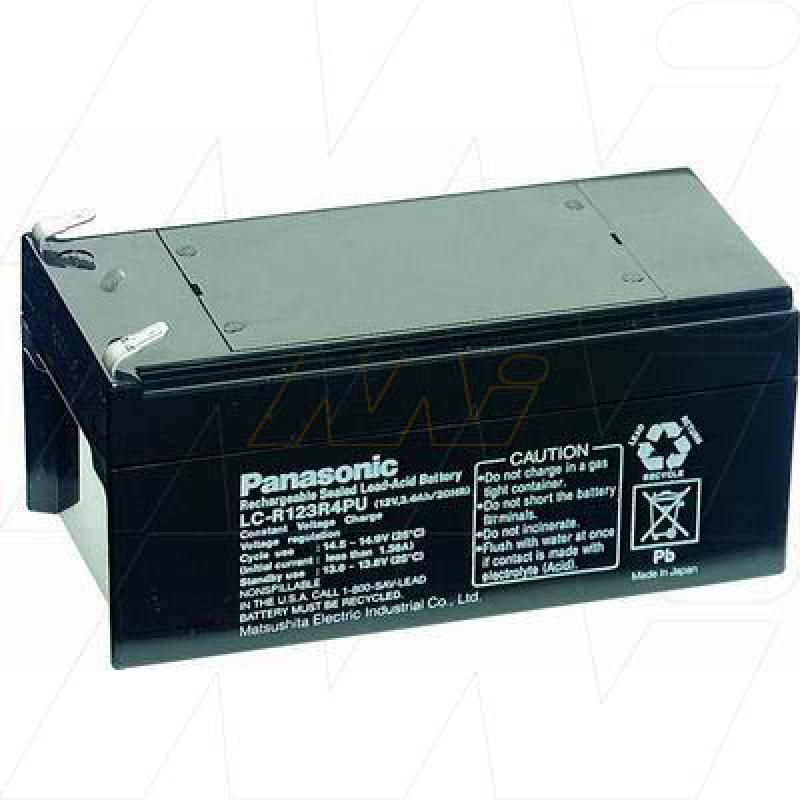 Panasonic LC-R123R4P - Sealed Lead Acid Battery